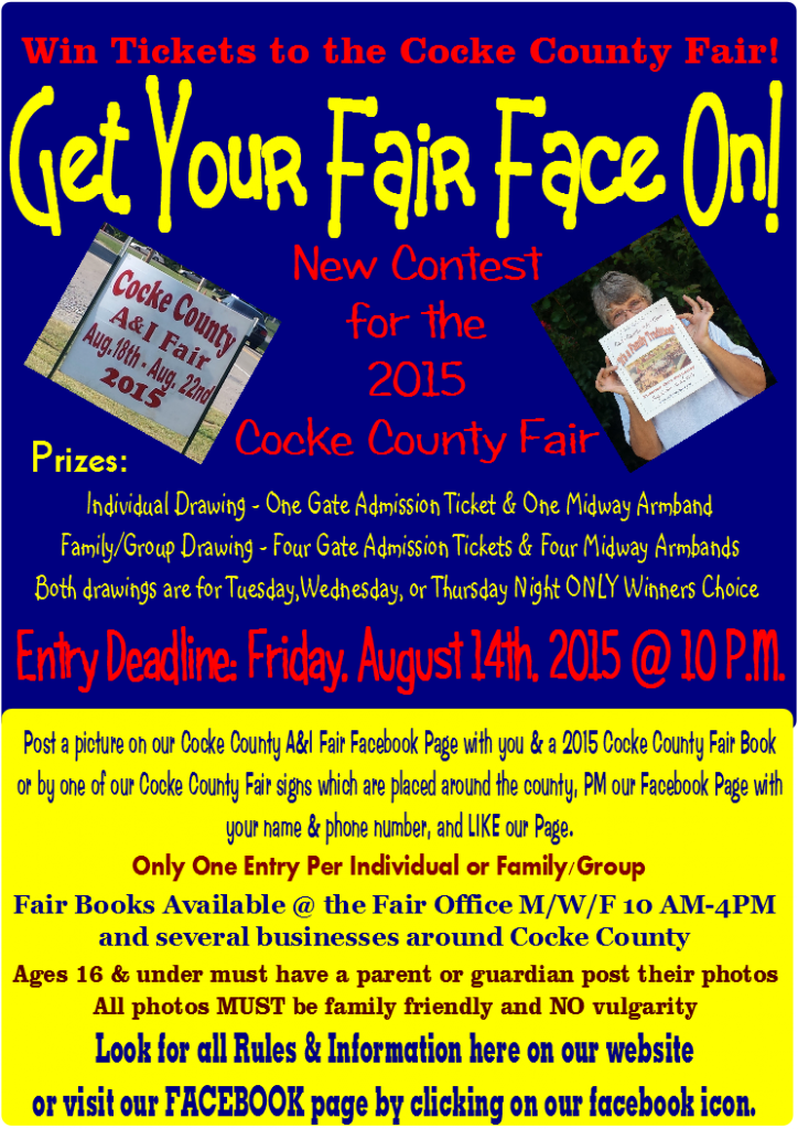 Get Your Fair Face ON! Contest